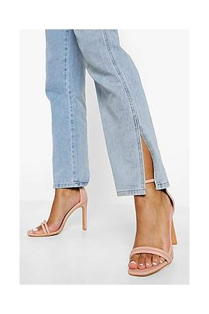 Boohoo Padded Double Strap 2 Part Sandal