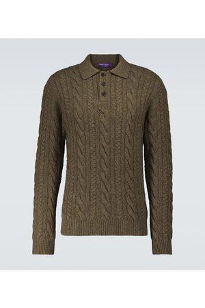 Ralph Lauren Purple Label Cashmere long-sleeved polo sweater