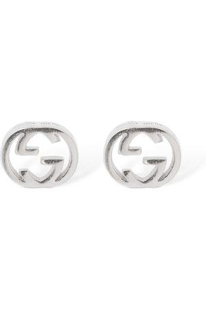 Gucci 18kt Interlocking G Earrings