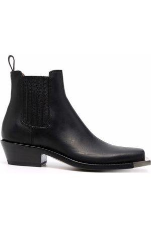 Buttero Square toe chelsea boots