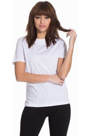 Selected Femme Slfmy Perfect Ss Tee Box Cut B Noos Bright White