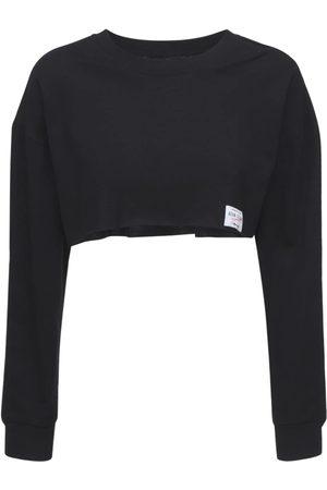 ADAM SELMAN SPORT Naiset Paidat - Cropped Cotton T-shirt