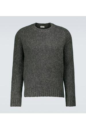 Saint Laurent Miehet Neuleet - Heavy-knit crewneck sweater