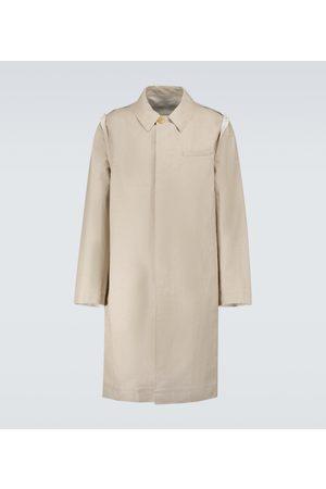 UNDERCOVER Miehet Päällystakit - Raw-edge Mac coat