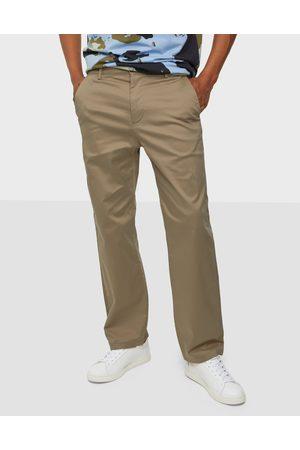 SELECTED Miehet Housut - Slhloose-Salford 220 Flex Pants W Housut Chinchilla