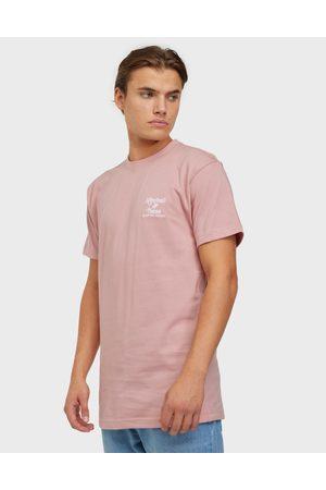 Mitchell & Ness Oversized Heavy Weight Tee T-paidat ja topit Pink