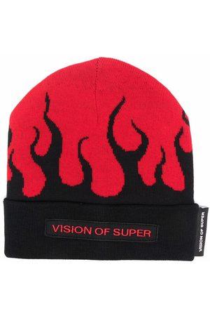 Vision Of Super Hatut - Flame beanie hat