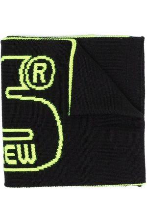 Gcds Kids Huivit - Logo wool scarf
