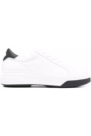 Dsquared2 Naiset Tennarit - Leaf logo low-top sneakers