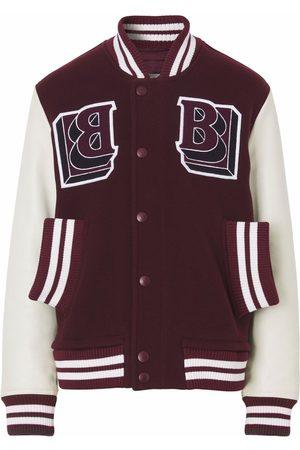 Burberry Miehet Takit - Logo-patch varsity jacket