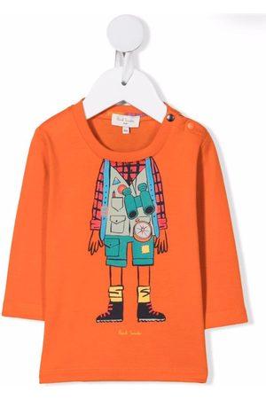 Paul Smith Junior Explorer print T-shirt