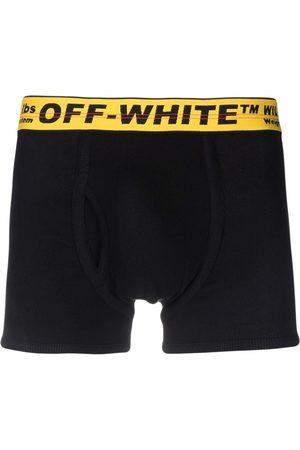 Off-White Miehet Alusvaatteet - SINGLEPACK CLASSIC INDUSTRIAL BOXER BLAC