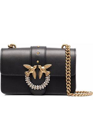 Pinko Love Birds faux-pearl crossbody bag