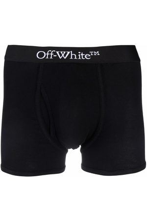 Off-White Miehet Alusvaatteet - SINGLEPACK OW BOXER WHITE