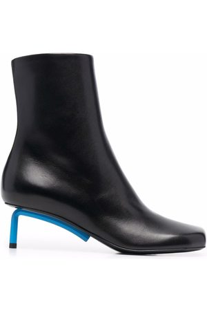 Off-White Naiset Nilkkurit - NAPPA ALLEN ANKLE BOOTIE NO COLOR