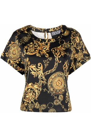 Versace Jeans Couture Naiset T-paidat - Baroque print T-shirt