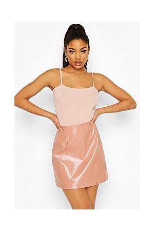 Boohoo Square Neck Glitter Bodysuit