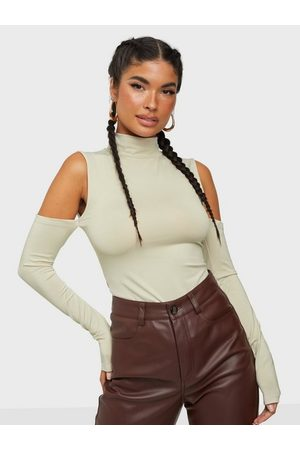 NLY Trend On Point Sleeve Top Greige