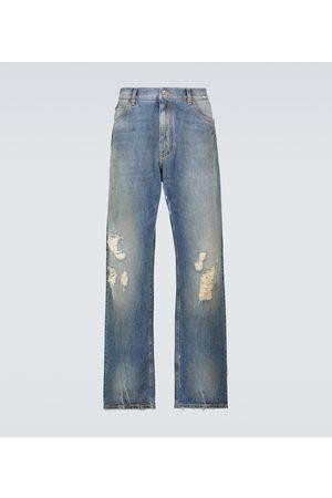Dolce & Gabbana Miehet Suorat - Loose-fit denim pants