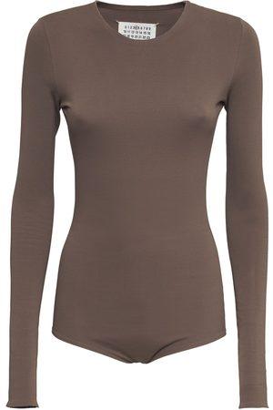 Maison Margiela Naiset Bodyt - Stretch Jersey Bodysuit