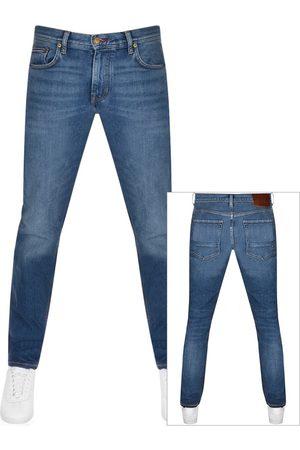Tommy Hilfiger Miehet Suorat - Denton Straight Fit Jeans Blue
