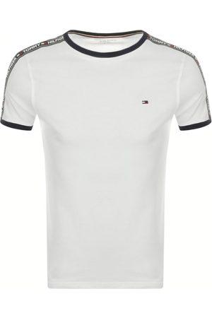 Tommy Hilfiger Miehet T-paidat - Loungewear Logo T Shirt White