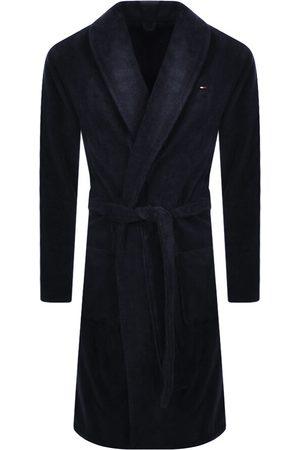Tommy Hilfiger Miehet Kylpytakit - Loungewear Icon Bath Robe Navy