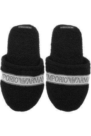 Armani Miehet Tohvelit - Emporio Slippers Black
