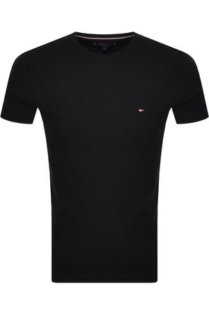 Tommy Hilfiger Miehet T-paidat - Core Slim T Shirt Black