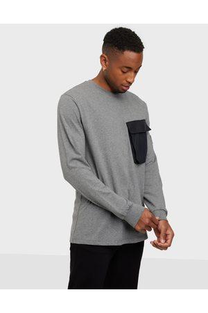 Lyle & Scott Pocket L/S T-shirt Neuleet & swetarit Grey