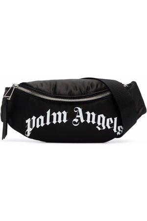 Palm Angels Miehet Vyölaukut - Curved-logo belt bag
