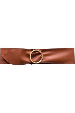 Pinko Engraved-logo buckle belt