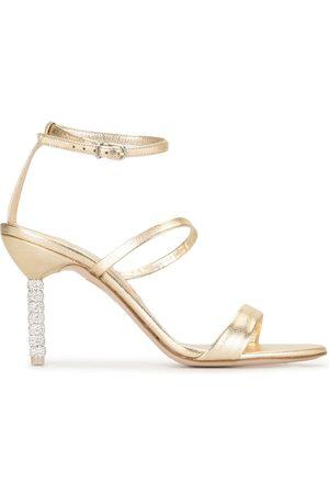 Sophia Webster Crystal heel sandals