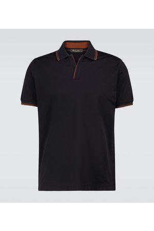 Loro Piana Sea Island cotton polo shirt