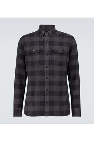 Tom Ford Grand gingham cotton shirt
