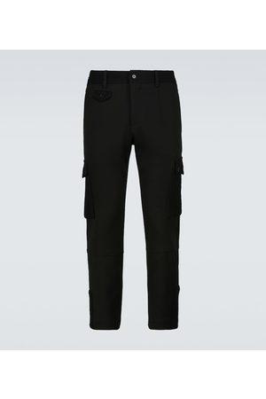Dolce & Gabbana Wool-blend cargo pants