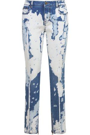 Tom Ford Bleached Denim Skinny Jeans