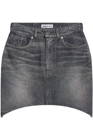 BALENCIAGA Naiset Minihameet - Denim Hourglass Mini Skirt