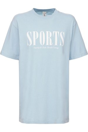 Sporty & Rich Naiset T-paidat - Lvr Exclusive Sports Logo T-shirt