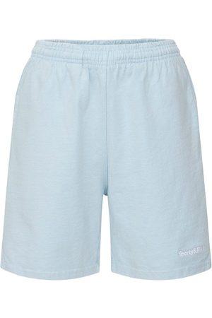 Sporty & Rich Naiset Shortsit - Lvr Exclusive Serif Logo Disco Shorts