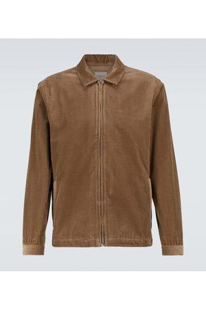 Sunspel Cotton corduroy Harrington jacket