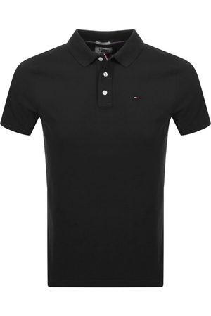 Tommy Hilfiger Slim Fit Polo Shirt Black