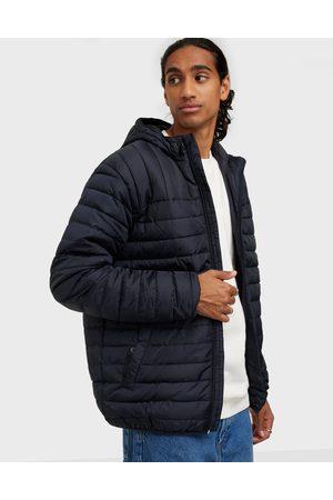 Only & Sons Miehet Talvitakit - Onspaul Quilted Hood Jacket Otw Takit Dark Navy