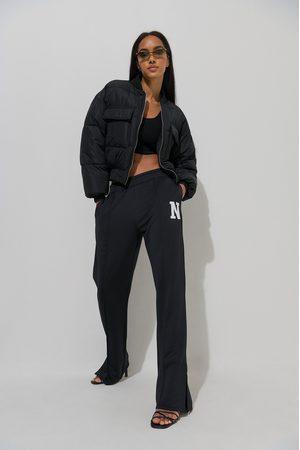 NA-KD Collegehousut - Black