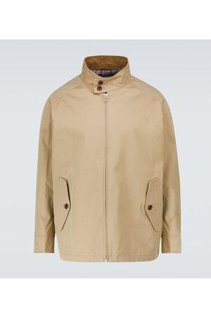 JUNYA WATANABE Miehet Päällystakit - Cotton-blend Harrington jacket