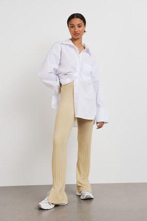 Gina Tricot Ida rib trousers