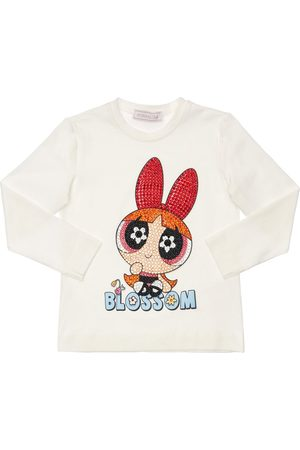 MONNALISA Tytöt T-paidat - Powerpuff Girls Print Jersey T-shirt