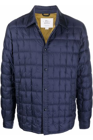 Woolrich Miehet Untuvatakit - Quilted button-down coat