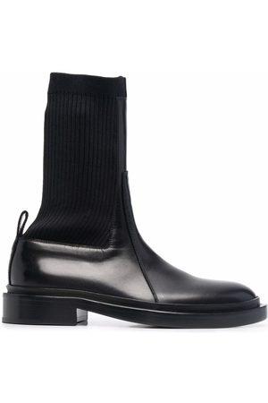 Jil Sander Ribbed sock ankle boots