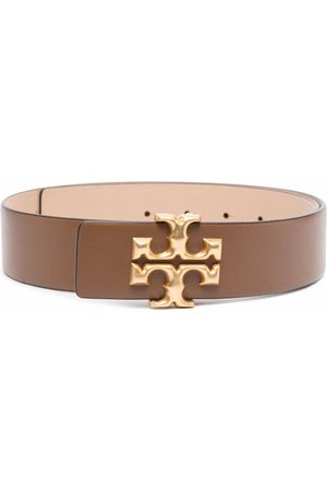 Tory Burch Naiset Vyöt - Eleanor buckled leather belt